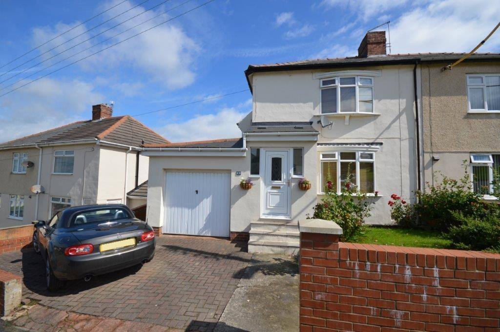 3 Bedrooms Semi Detached House for sale in Local Avenue, Sherburn Hill, Durham